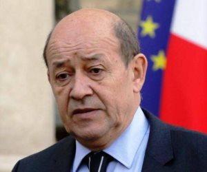 وزير الخارجية الفرنسى: الوضع فى الشرق الأوسط بات «فى منتهى الخطورة»