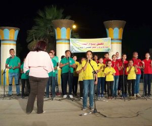 قصر ثقافة العقاد ينظم حفلا بـ«يوم اليتيم» فى أسوان (صور)