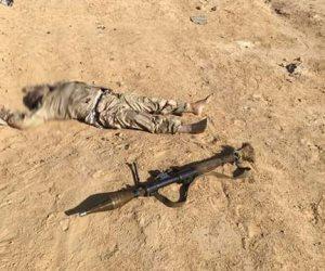 ننشر صور القضاء على 14 إرهابيًا بوسط سيناء (صور)