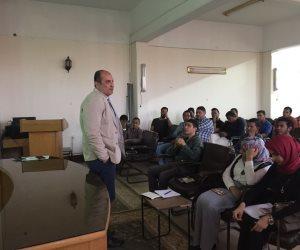 جامعة سوهاج تدرب طلابها علي مبادئ الميثاق الأخلاقي