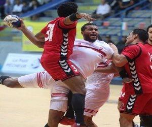 منتخب مصر لكرة اليد يخوض أخر مواجهاته بالمجموعة الرابعة أمام أنجولا