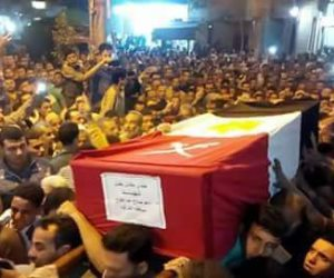المحافظات تشيّع جثامين شهداء سيناء وتودع أبنائها الأبرار (صور)