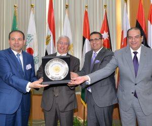 رئيس جامعة المنصورة ومحافظ الدقهلية يفتتحان المؤتمر الدولي 18 بكلية الحقوق