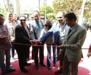 افتتاح معرض كتاب كلية آداب جامعة الإسكندرية (صور)