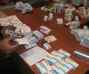 جمارك المطار تضبط راكب قادم من ميلانو بحوزته كمية كبيرة من الأقراص المخدرة