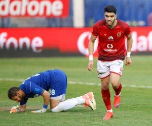 اهداف مباراة الاهلي ووادي دجلة في الدوري اليوم الثلاثاء 17 / 4 / 2018
