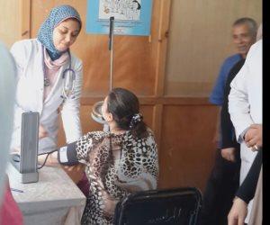 وكيل وزارة الصحة تتفقد مركز المندرة لمتابعة مبادرة القضاء على فيروس سي