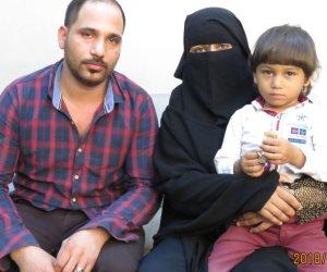 بعد طلب فدية 3 ملايين جنيه.. طفل الشروق في أحضان أهله من جديد (صور)