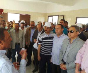 «الإدارة المحلية بالبرلمان» تستهل زيارتها لأسوان بتفقد محطة مياه جبل شيشة (صور)