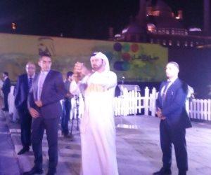 مبادرة صناع الأمل تضيء قلعة صلاح الدين الأيوبي في القاهرة
