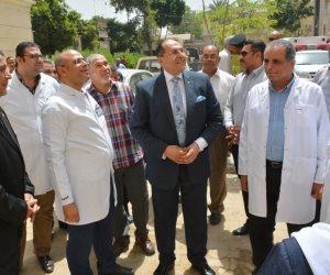 محافظ سوهاج يفتتح أعمال تطوير المستشفى التعليمي بتكلفة 15 مليون جنيه