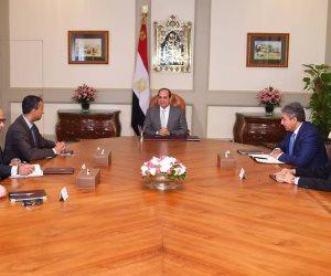 السيسي لرئيس «بوينج» العالمية: مصر تتطلع للتعاون مع الشركة لتحقيق المصلحة المشتركة