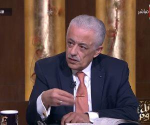 طارق شوقي: منظومة التعليم الجديدة استراتيجية دولة وليست متوقفة على وزير (فيديو)