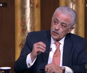 وزير التربية والتعليم: «أذينا أجيال كتير وأخدنا منهم فرصة التعلم» (فيديو)