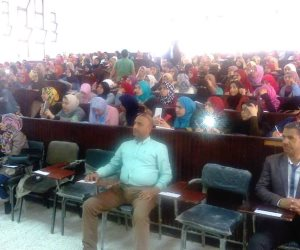 حرحور يؤكد دعم الرئيس لطلاب الثانوية العامة بشمال سيناء (صور)