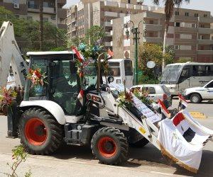 بدء احتفالات محافظة أسيوط بعيدها القومي