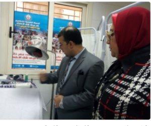 """""""صحة الإسكندرية"""": افتتاح وحدة العلاج الطبيعي بوحدة طب أسرة أبيس 10"""