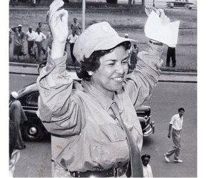 النقيب «راوية».. أول امرأة تنير البرلمان المصري (بروفايل)