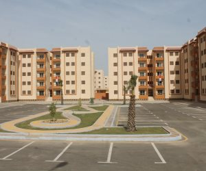 تسليم عقود 5 آلاف وحدة إسكان اجتماعي بمدينة السادات بالمنوفية ( صور)