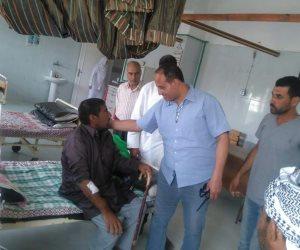 وكيل وزارة الصحة بشمال سيناء يتفقد مستشفيي الشيخ زويد ورفح (صور)
