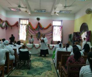 قداس الكنيسة الأسقفية من داخل سجن القناطر احتفالا بعيد القيامة (صور)