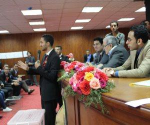 آداب المنصورة تستضيف الملتقى القمي لبرلمان طلاب الجامعات المصرية