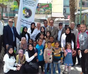 جمعية رعاية الفئات الخاصة بالعريش تحتفل بتحرير سيناء ويوم اليتيم (صور)