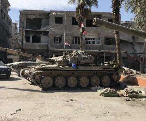 سانا: إخراج الدفعة الأولى من المسلحين وعائلاتهم من منطقة القلمون الشرقى إلى الشمال السوري