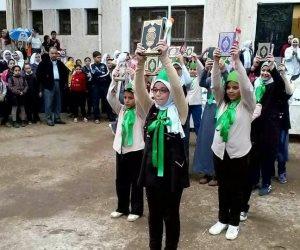 إحالة 3 عاملين بمدرسة نبروه للتحقيق بعد «عرض رفع المصاحف» بالدقهلية