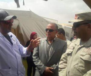مستشفى سعاد كفافي تبدأ العمل في وسط سيناء برعاية الجيش الثالث (صور)