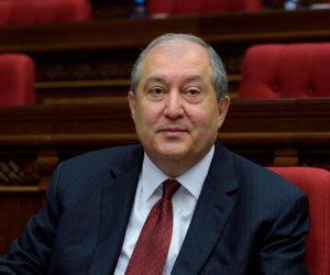 الرئيس الأرميني يلتقى زعيم المعارضة لبحث الوضع السياسى فى البلاد