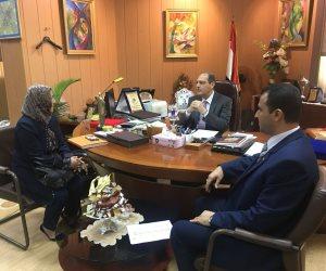 نائب رئيس جامعة المنصورة يؤكد على أهمية بناء الشراكات مع الدول العربية