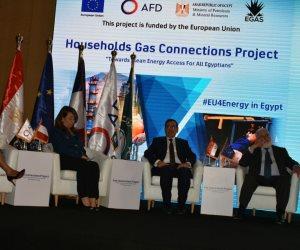 وزير البترول: توصيل الغاز لـ2.7 مليون وحدة سكنية خلال الأربع سنوات الماضية