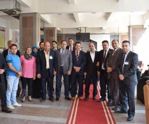 انطلاق فاعليات المؤتمر الدولى السادس بنوعية أشمون بجامعة المنوفية (صور)