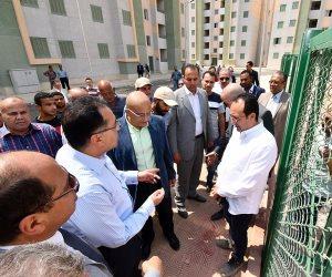 وزير الإسكان يعلن تجهيز 4900 وحدة سكنية بـ «المحروسة 1 و2» منتصف مايو (صور)