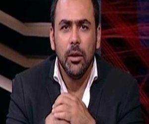"""الجنايات تؤجل محاكمة يوسف الحسيني في سب وقذف """"الزند"""" لجلسة 26 يونيو"""