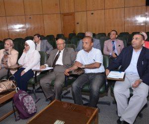 جامعة أسيوط تبحث ريادة الأعمال مع ممثلى المجتمع المدني والنقابات (صور)