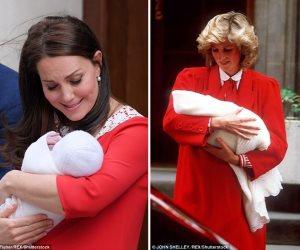"""بعد إطلالتها المشابهة لحماتها بعد ولادة طفلها الثالث.. لقطات ظهرت فيها """"كيت"""" طبق الأصل من """"ديانا"""""""