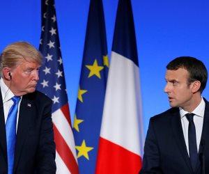 كيف أحرج ترامب الرئيس الفرنسي في عقر داره؟ (فيديو)