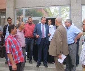 إحالة مجموعة من أطباء وعاملين مستشفى الجامعة ببني سويف للتحقيق