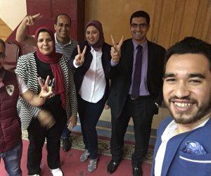 فوز حازم عبد الصمد مصور اليوم السابع بعضوية شعبة المحررين البرلمانيين