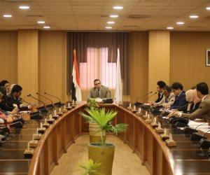 ننشر مناقشة مشاكل طلاب جامعة المنصورة بمجلس معاونى رئيس الجامعة