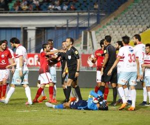 وليد سليمان يحرز هدف الأهلي الأول في شباك الزمالك بالدقيقة 71