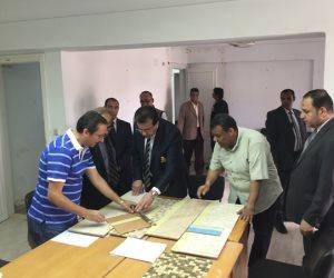 3 ملاحظات لوزير التعليم العالي على مشروع تطوير مبنى الوافدين بحي السفارات (صور)
