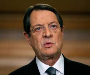 الرئيس القبرصي: رؤيتي هي تسليم قبرص موحدة في 2023