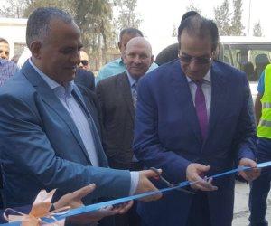 وزير الري ومحافظ الدقهلية يفتتحان عددا من المشروعات التنموية