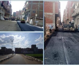 11مليون جنيه لرصف طرق وشوارع مركز ومدينة الزقازيق