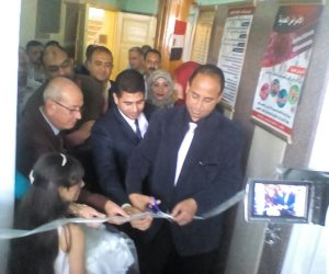وكيل صحة شمال سيناء يفتتح المكتبة العلمية والثقافية بالعريش (صور)