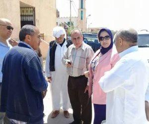 وكيل الصحة الإسكندرية تزور وحدة صحة أسرة أبو صير التابعة لإدارة برج العرب الطبية