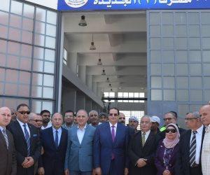 وزير الري ومحافظ الدقهلية يفتتحان محطة رفع لمصرف جمصة بتكلفة أكثر من 92 مليون جنيه (صور)